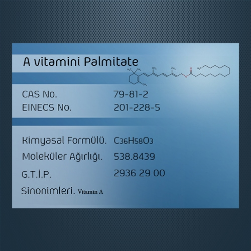 A Vitamini Palmitate